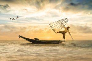 equilibrio pescador